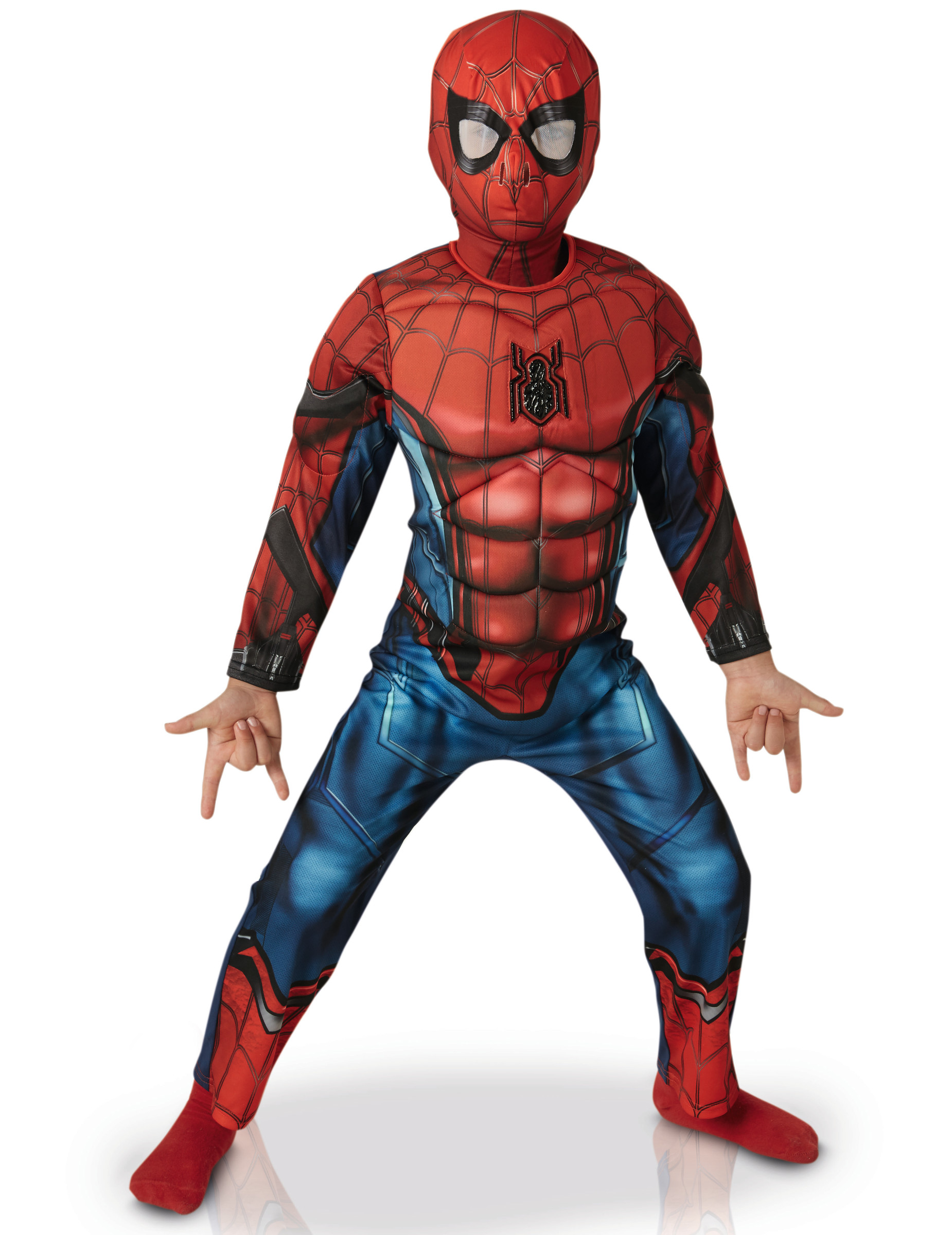 d guisement luxe spider man homecoming enfant d coration. Black Bedroom Furniture Sets. Home Design Ideas