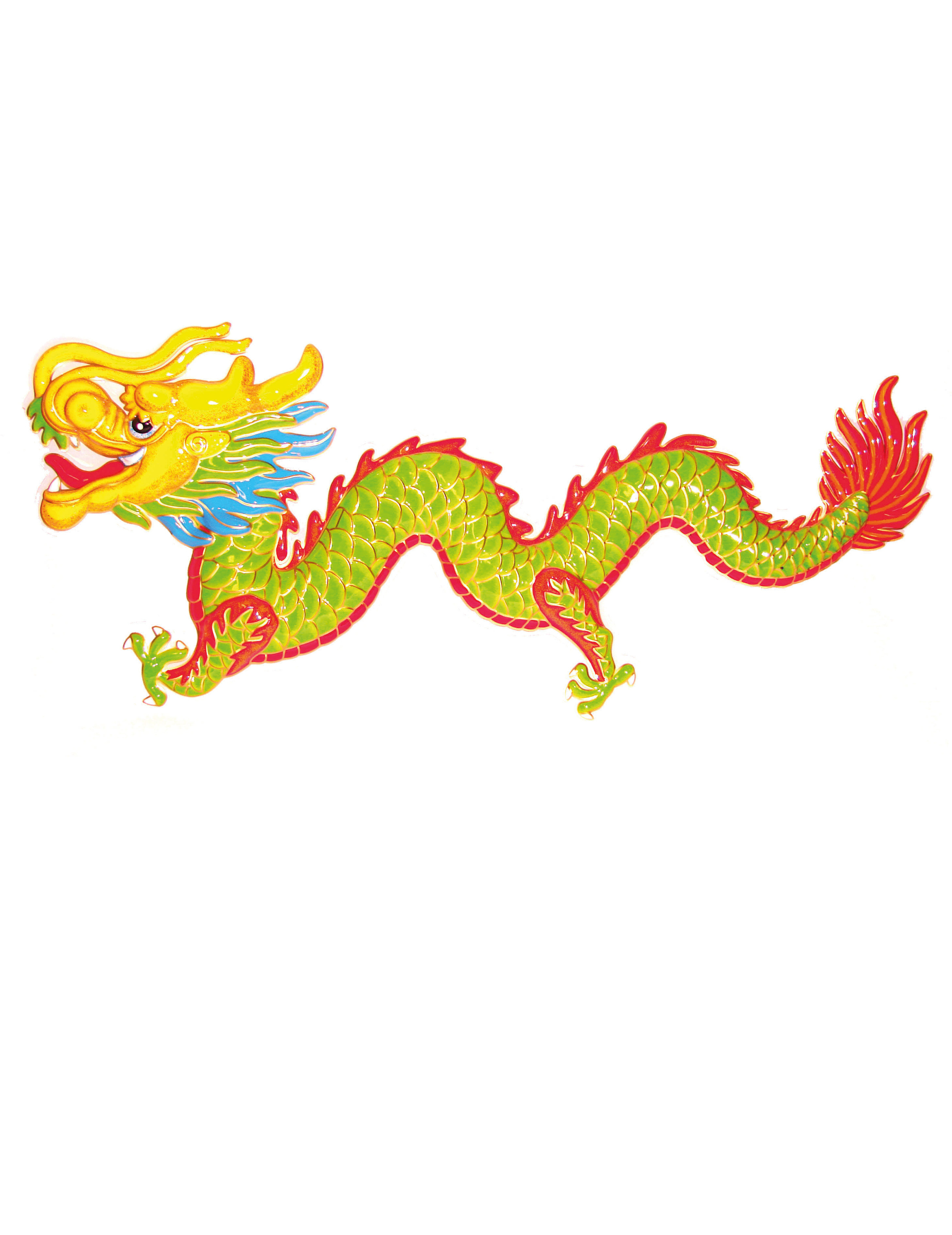 D coration dragon nouvel an chinois 1m d coration - Decoration nouvel an chinois ...
