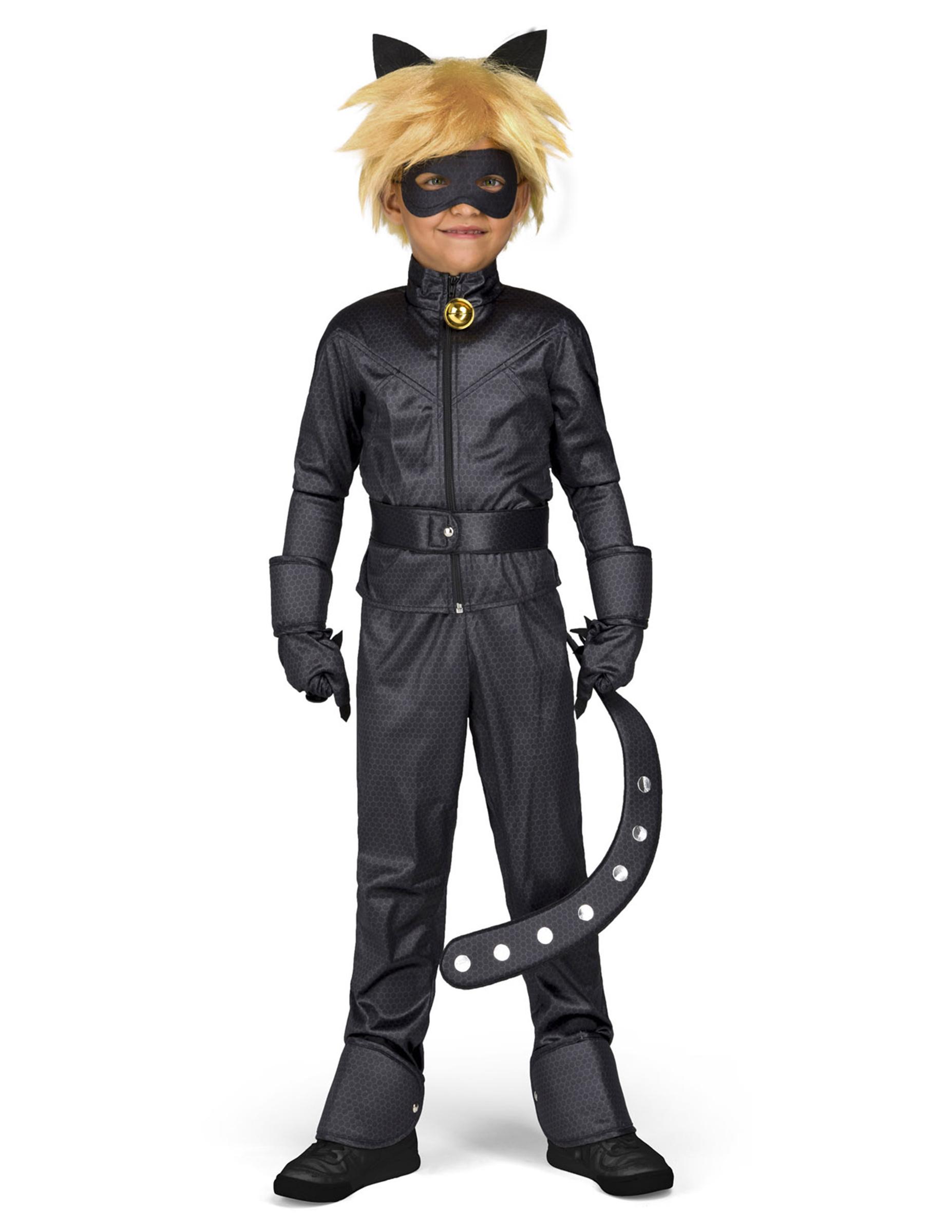 Coffret Deguisement Chat Noir Miraculous Enfant Decoration