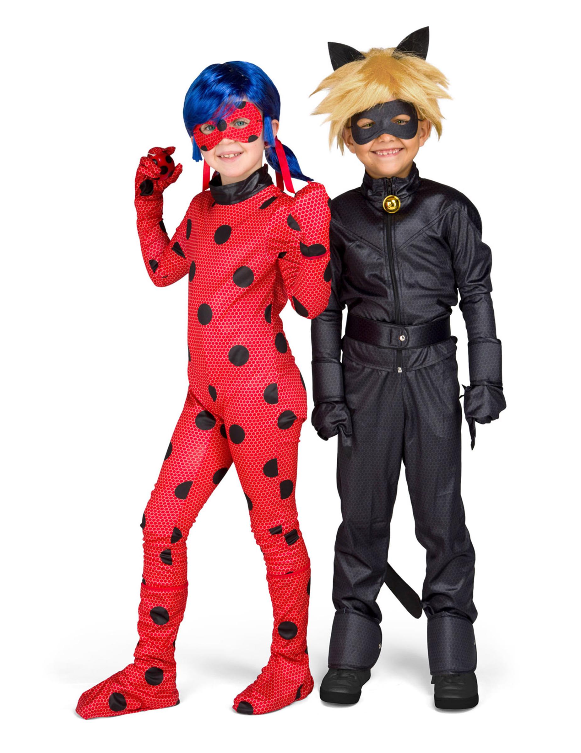 439a6cae230bed Coffret déguisement Chat Noir Miraculous™ enfant, décoration ...