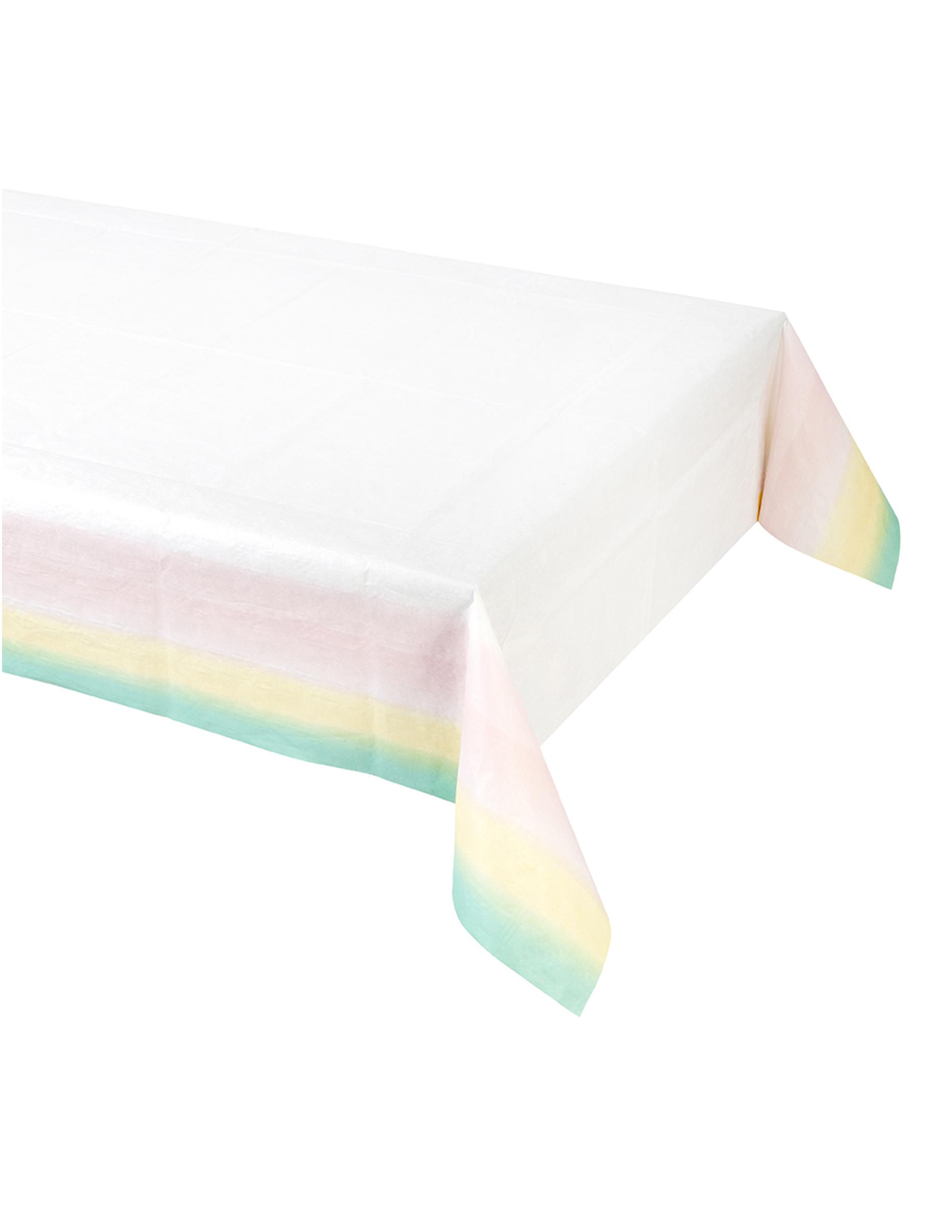nappe pastel en plastique 180 x 120 cm d coration anniversaire et f tes th me sur vegaoo party. Black Bedroom Furniture Sets. Home Design Ideas
