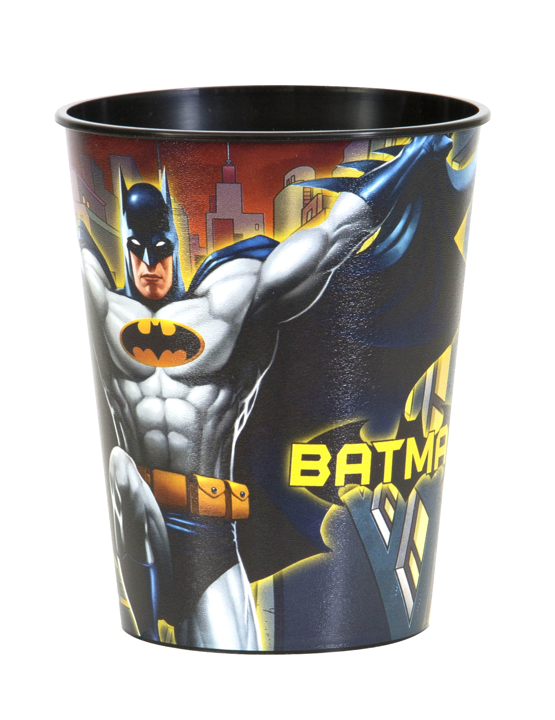 gobelet en plastique batman 50 cl d coration anniversaire et f tes th me sur vegaoo party. Black Bedroom Furniture Sets. Home Design Ideas