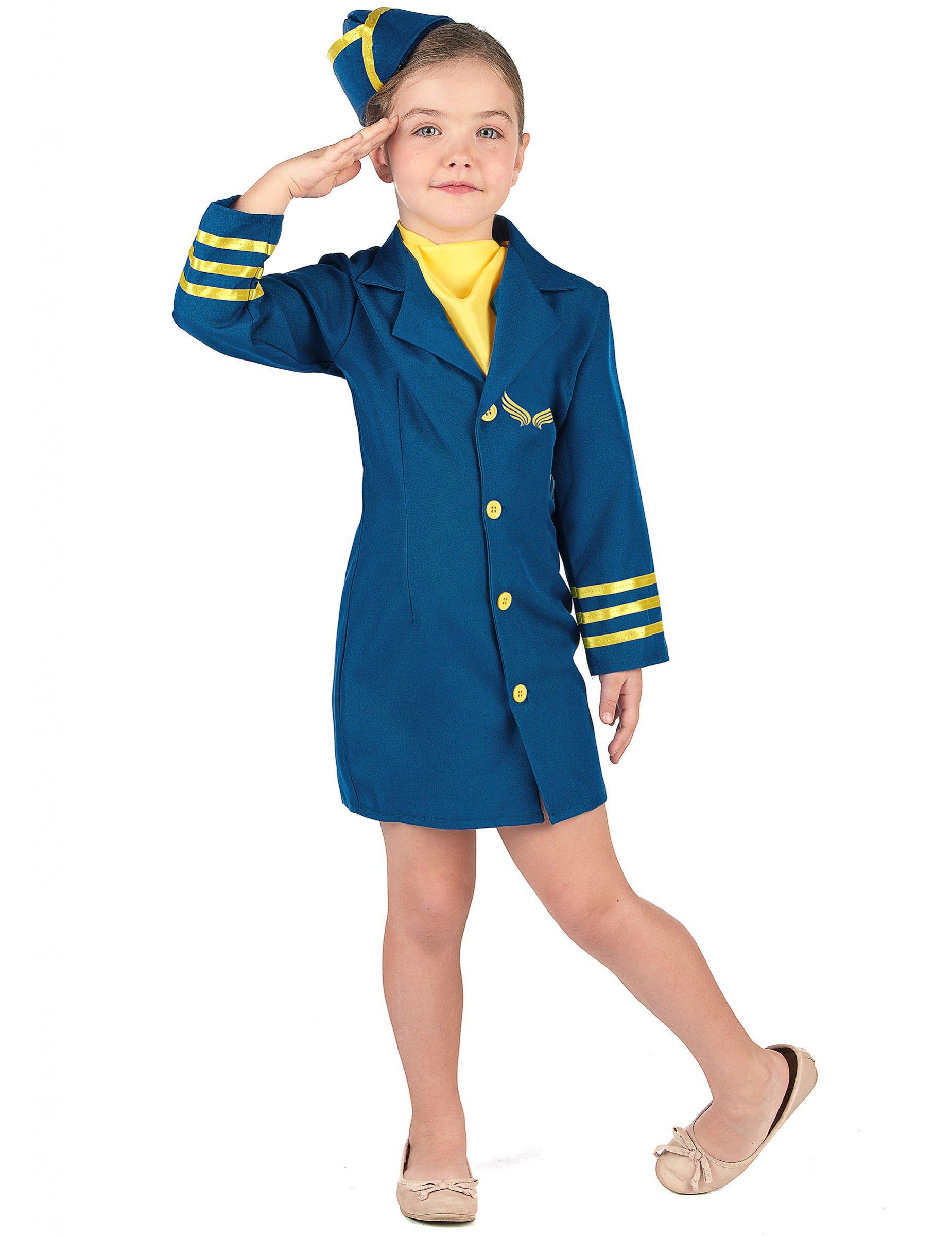 Deguisement Uniforme Hotesse De L Air Fille Decoration