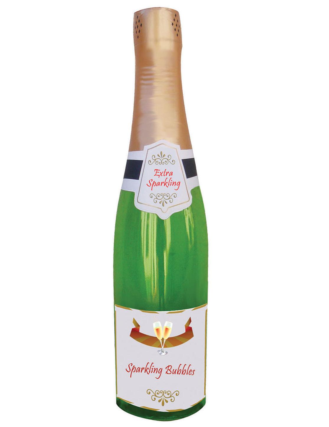 Bouteille De Champagne Gonflable 76 Cm Décoration Anniversaire Et Fêtes à Thème Sur Vegaoo Party