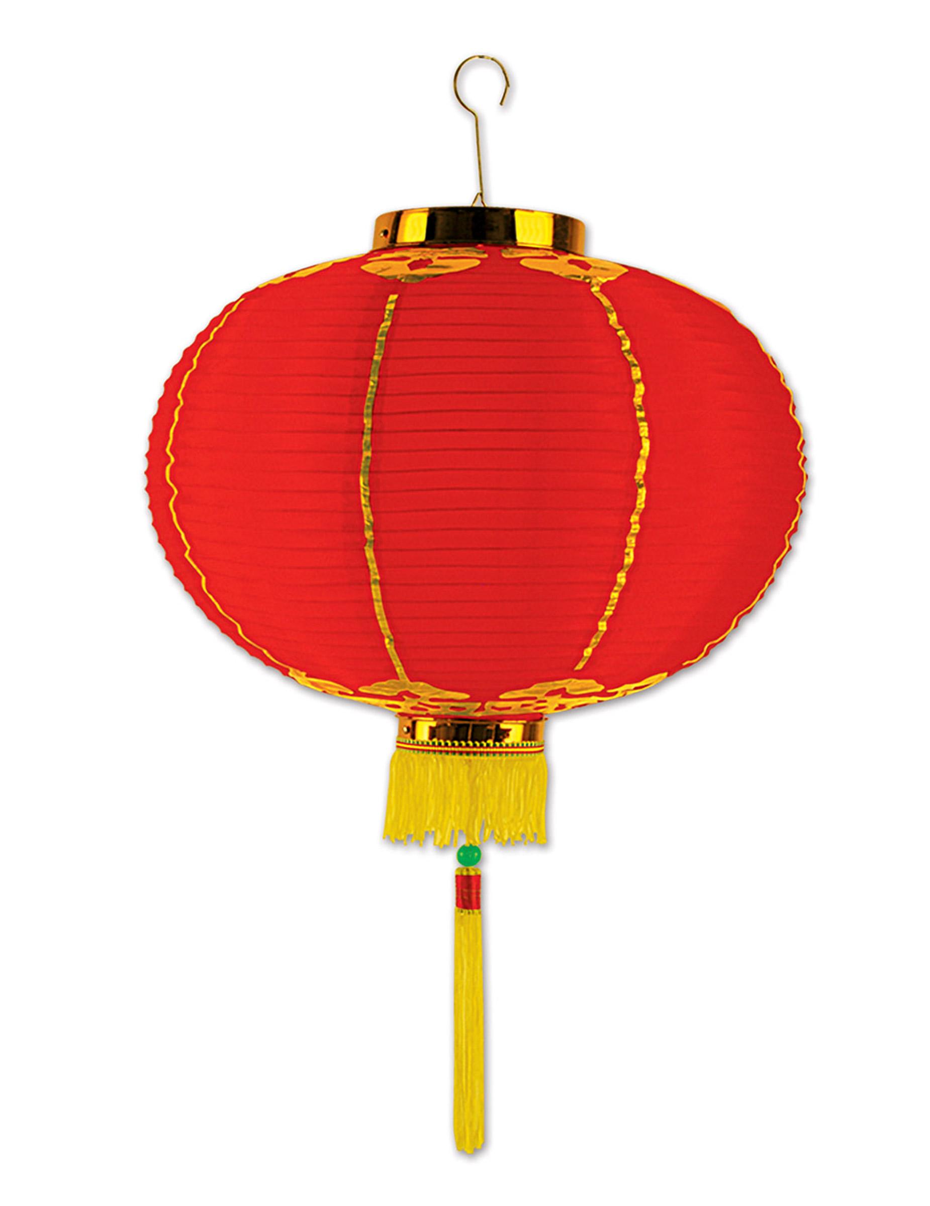 Lanterne Chinoise En Papier Rouge Avec Tassel 30 Cm Decoration