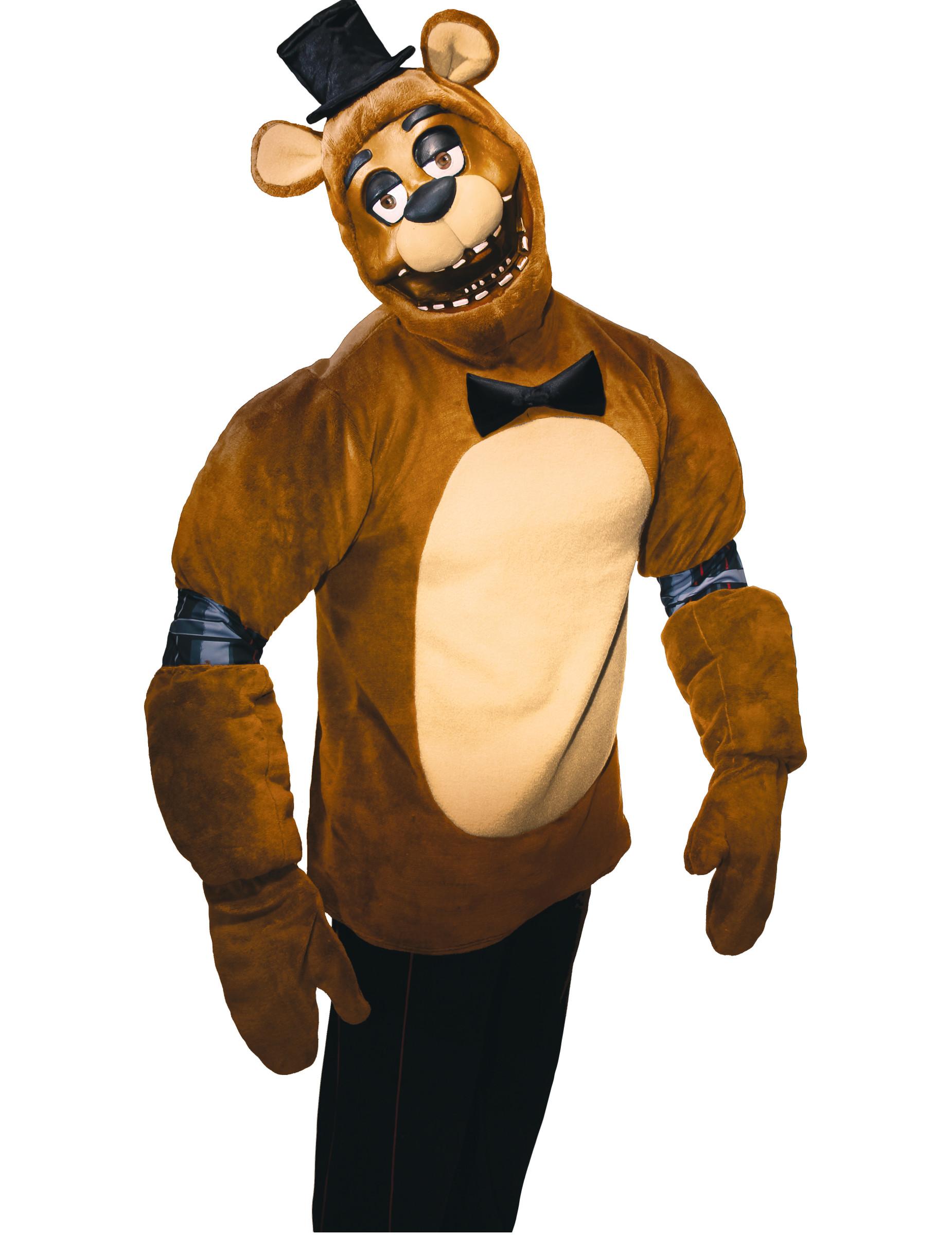 Déguisement Freddy Jeu Vidéo Five Nights At Freddys Adulte Décoration Anniversaire Et Fêtes à Thème Sur Vegaoo Party
