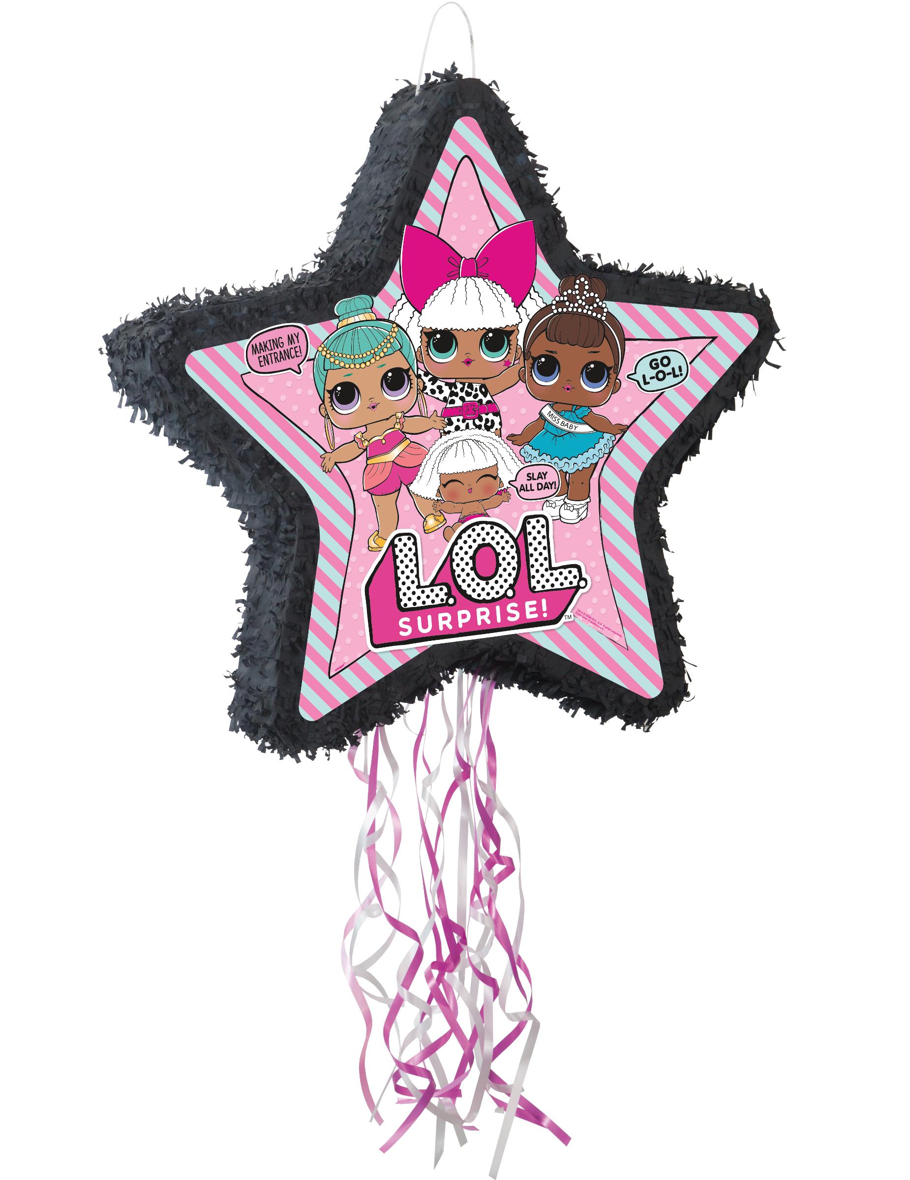 Piñata Lol Surprise 57 X 55 Cm Décoration Anniversaire Et Fêtes à Thème Sur Vegaoo Party