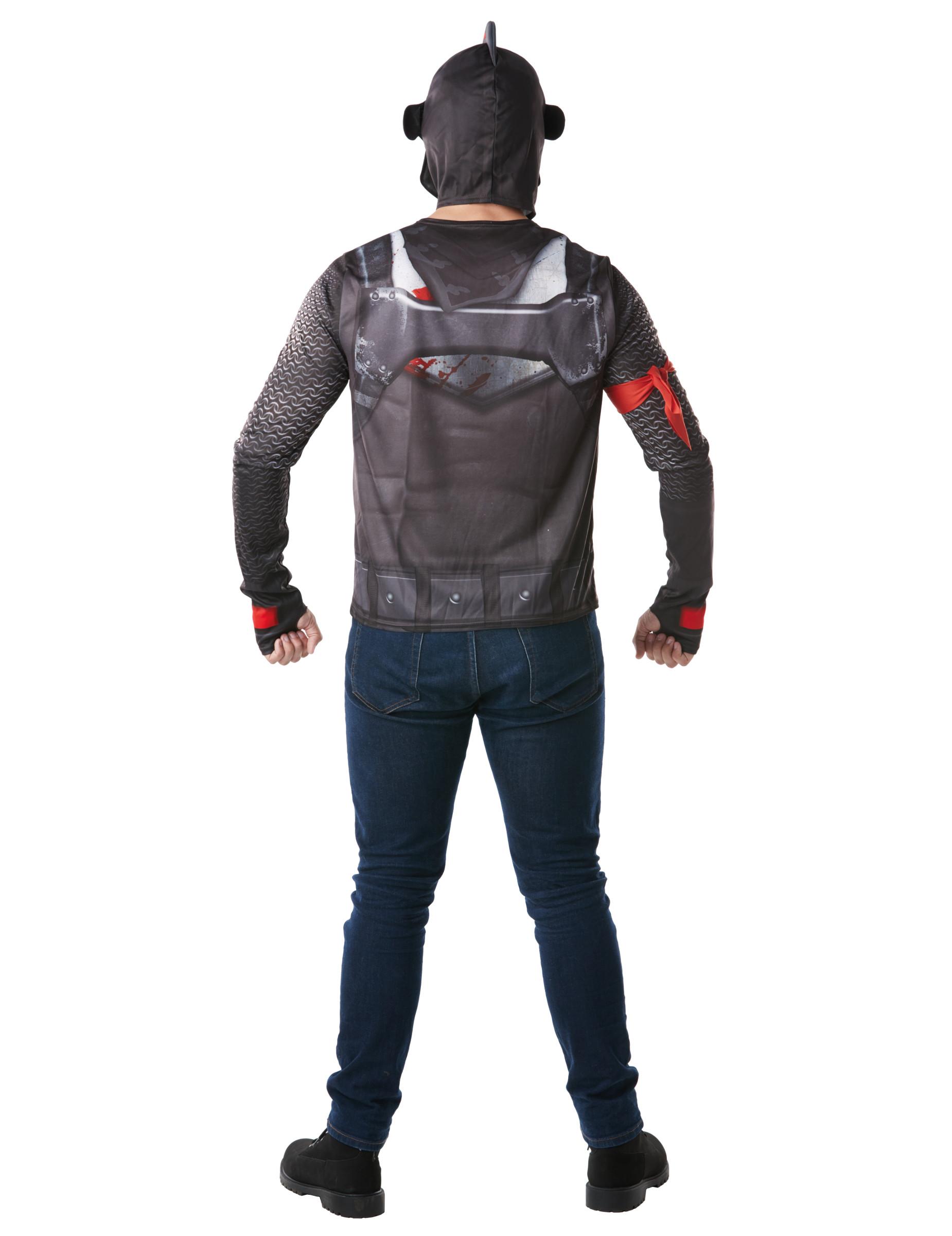 t shirt et casque black knight fortnite adulte 1 - fortnite anniversaire deco