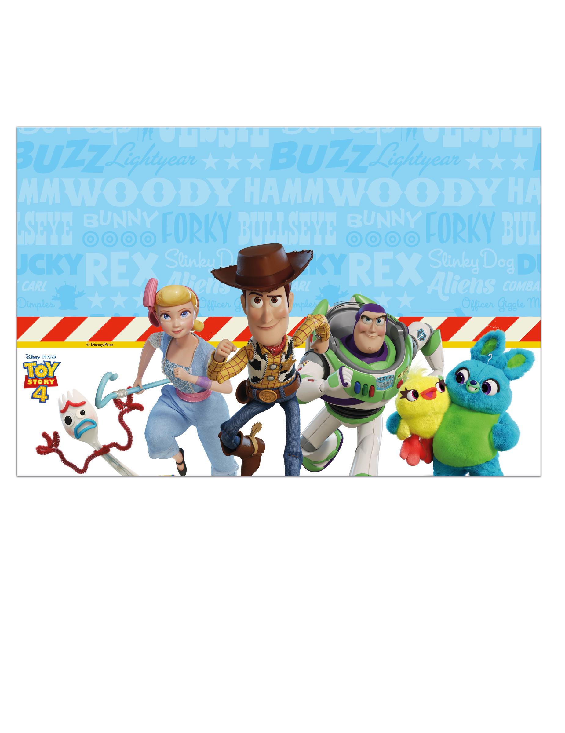 Nappe En Plastique Toy Story 4 120 X 180 Cm Décoration Anniversaire Et Fêtes à Thème Sur Vegaoo Party