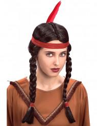 Perruque indienne tresses Femme