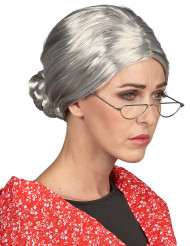 Perruque Grand-mère femme