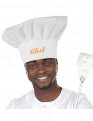 Toque de chef cuisinier adulte