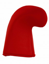 Bonnet lutin rouge adulte