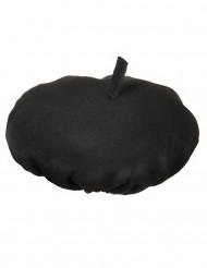 Béret traditionnel noir