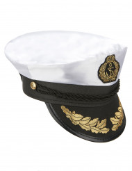 Chapeau de capitaine marin adulte