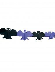 Guirlande chauve-souris Halloween 4m