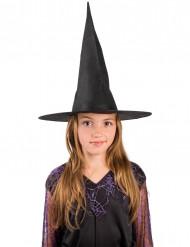 Chapeau sorcière noir enfant halloween
