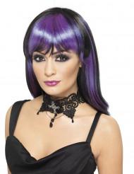 Ras de cou noir femme Halloween