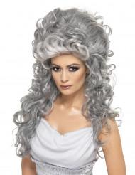 Perruque comtesse grise femme