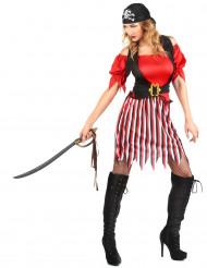 Déguisement pirate tunique femme