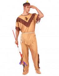 Déguisement indien bicolore homme