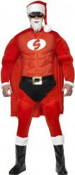 Déguisement  Père Noël musclé homme