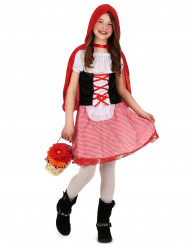 Déguisement chaperon rouge basique fille