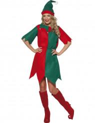 Déguisement elfe femme Noël