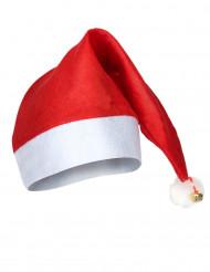 Bonnet de Noël avec grelot adulte