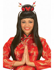 Perruque china girl femme