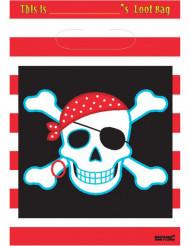 Sac cadeaux Pirate 16,5 x 23 cm