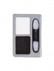 Palette maquillage noir et blanc