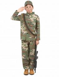Déguisement soldat garçon