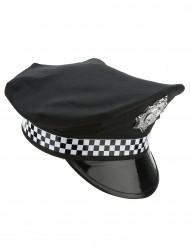 Casquette policier anglais adulte