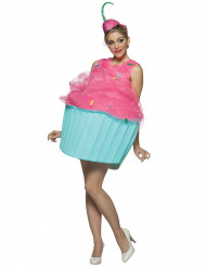 Déguisement cupcake femme