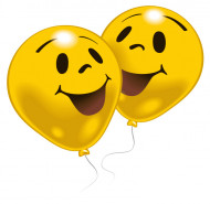 10 Ballons smiley