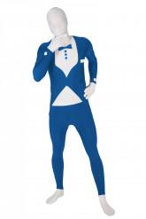 Déguisement  Morphsuits™ costume bleu adulte