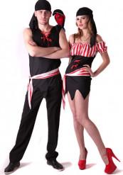 Déguisement couple pirate