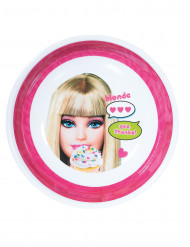 Assiette creuse mélamine barbie™