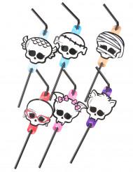 Pailles flexibles Monster High™ Halloween