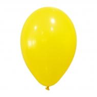 24 Ballons jaunes 25 cm