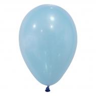 24 Ballons bleu clair 25 cm