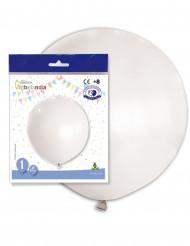 Ballon géant en latex blanc 80 cm