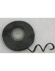 Rouleau de raphia avec fil métallique noir 10 m
