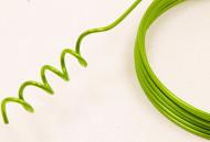 Fil d'aluminium vert