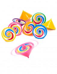 8 Petits jouets toupies pour enfant