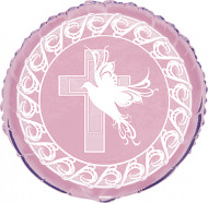 Ballon communion rose