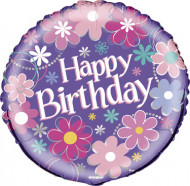 Ballon Happy Birthday filles