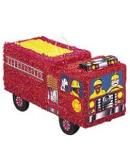 Piñata Camion de Pompier rouge 46 x 24 cm