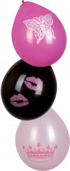 6 Ballons princess